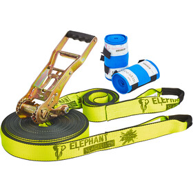 Elephant Slacklines Addict Slackline Flash'line-Set neon